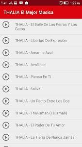 Thalia Desde Esa Noche Musica screenshot 3