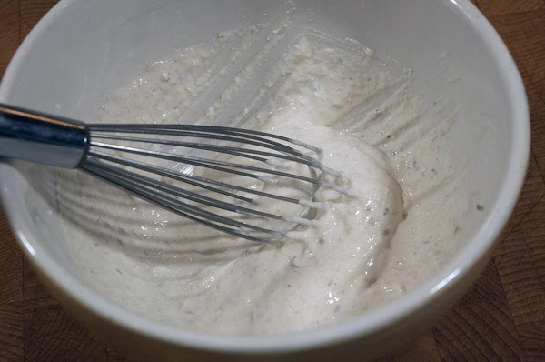 Whisk all the ingredients together in a non-reactive bowl