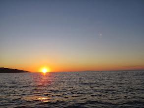Photo: Sunset at Drakes Bay.