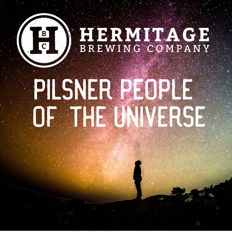 Logo of Hermitage Pilsner People of the Universe