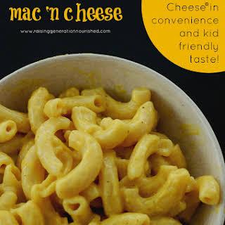 Compare to Kraft Mac N Cheese In Convenience & Kid Friendly Taste!.