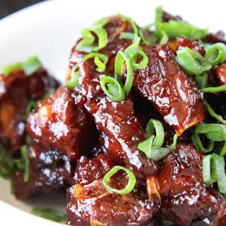 Vietnamese Caramelized Pork Spare Ribs (Suon Khia or Suon Ram Man).