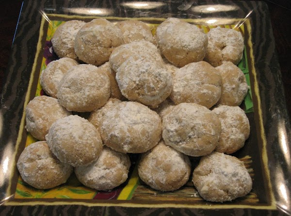 Almond Snowball Cookies Recipe