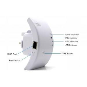 Amplificator retea semnal Wireless'N WIFI repeater
