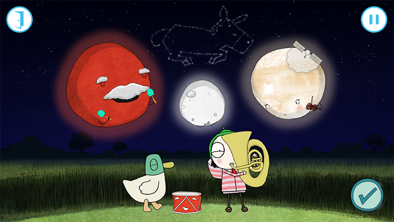 Sarah & Duck The Big Sleepover- screenshot