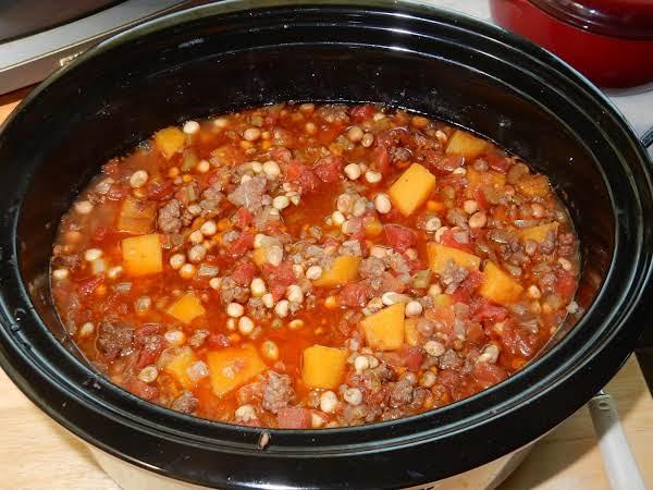 Slow Cooker Winter Squash Chili Recipe