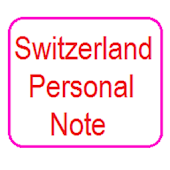 Switzerland Personal Notepad