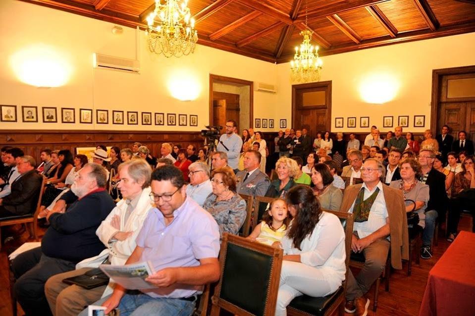 """André Freire apresentou """"Cidades da Minha Vida"""" na Câmara de Lamego"""