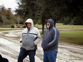 Photo: Dennis Cranston and Andy Isles at 9:18 AM    HALS Public Run Day 2014-1115 RPW