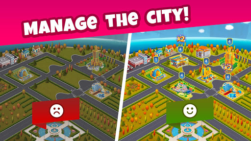 Pocket Tower: Building Game & Megapolis Kings screenshots 8