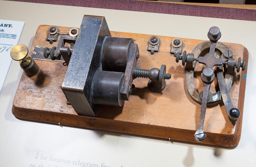 Telegraph key, Wright 1903 flight