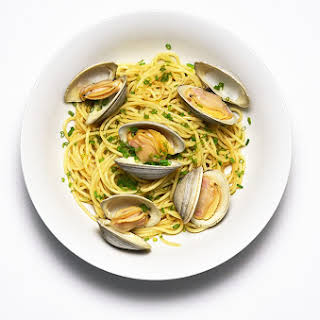 Spaghetti with Brown Butter and Clams.