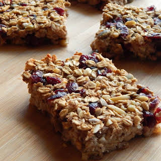 Healthy Oatmeal Breakfast Bars.