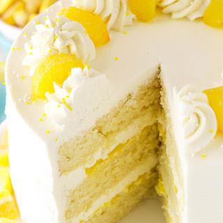 Lemon Mascarpone Layer Cake.