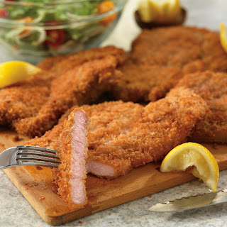 Crispy Pork Cutlets with Tuscan Salad Recipe