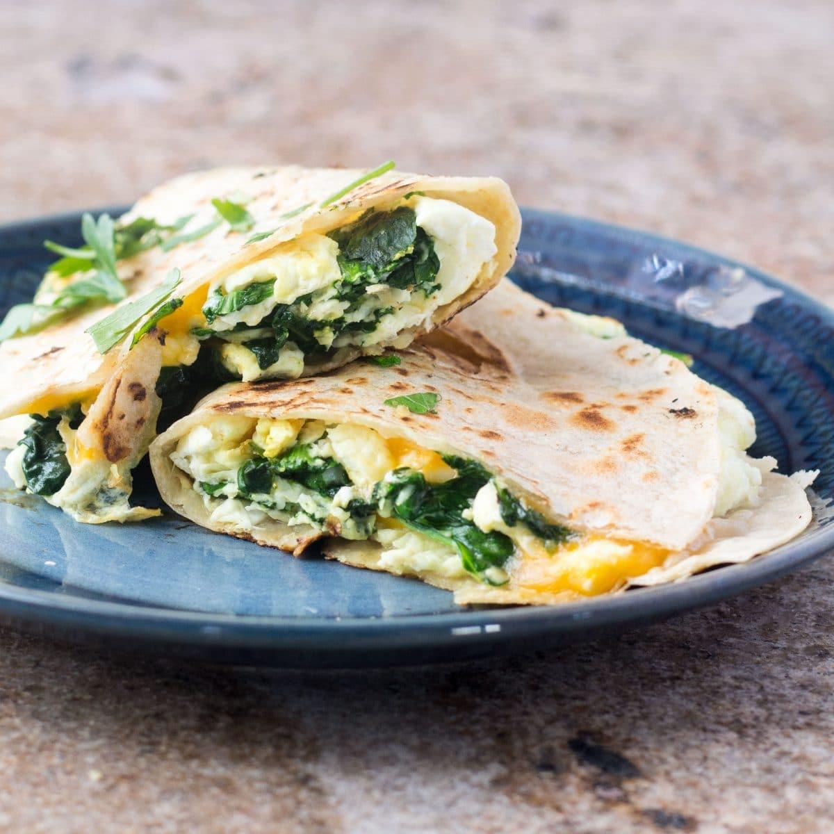 Healthy Breakfast Quesadilla Recipe | Yummly