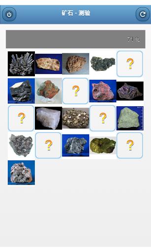 矿石 - 测验