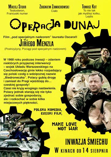 Tył ulotki filmu 'Operacja Dunaj'