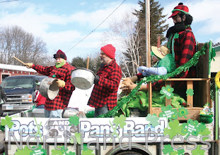 Photo: The Pots and Pans Band of the Paul Bunyan Scenic Byway Association took first place in the Non-profit division - photo by Paul Boblett