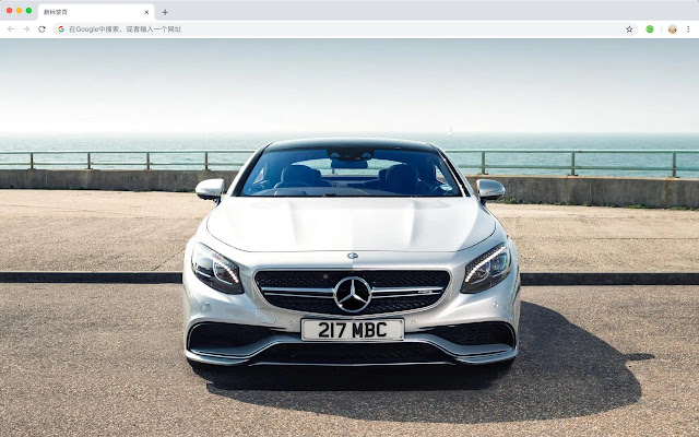 Mercedes Hot Car HD Wallpapers New Tabs Theme