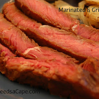 Marinated & Grilled Beef.