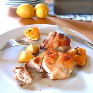 Orange And Lemon Chicken.
