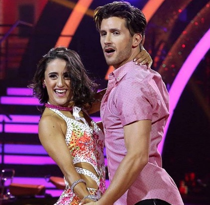 Connell Cruise and his dance partner, Marcella Solimeo, are the winners of Dancing With The Stars.