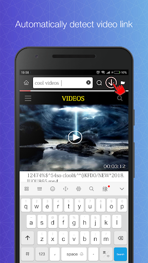 Video downloader - Private downloader game (apk) free download for Android/PC/Windows screenshot