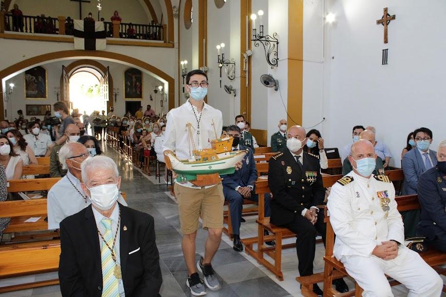 Cultos en honor a la Patrona de la Armada y de Pescadería.