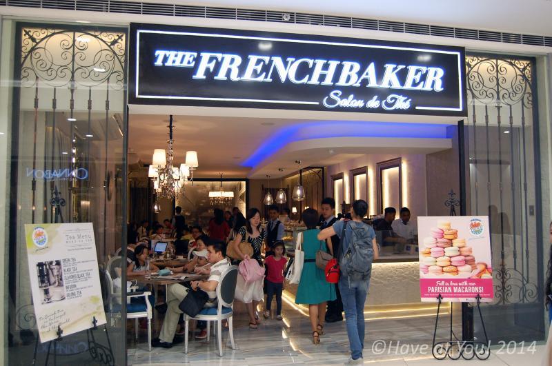 Salon de The storefront