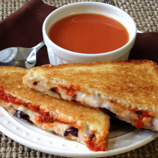 Pizza Lover's Grilled Cheese (Make That Sandwich 2012 Finalist)