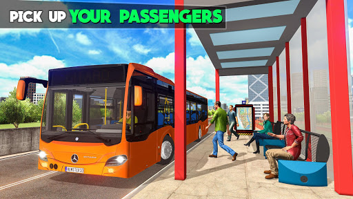 Tourist City Bus Simulator: Coach Driver 2020 ud83dude8d android2mod screenshots 3
