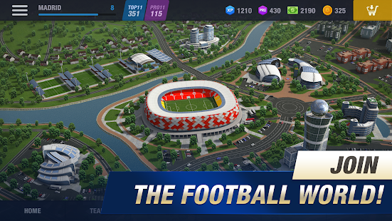11x11: Football Manager Screenshot