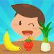 Aprender frutas y verduras - juegos para niños