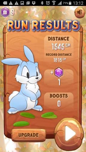 Cute Bunny Hop and Jump