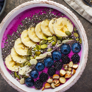 Banana Berry Smoothie Bowl