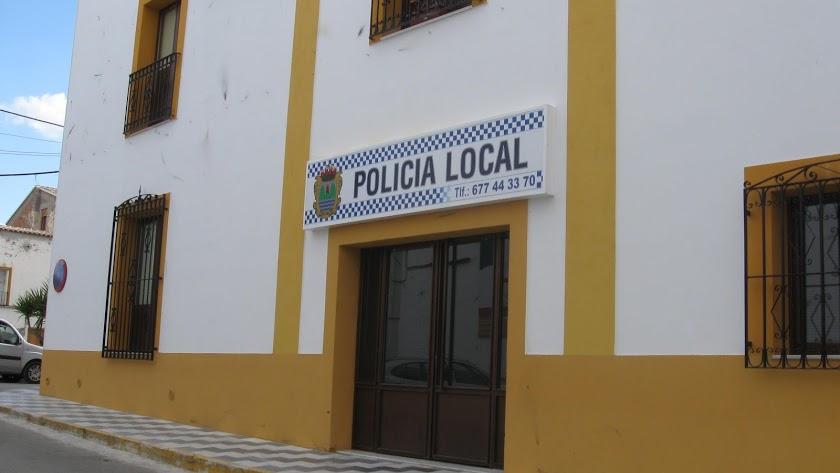Instalaciones de la Policía Local olulense.