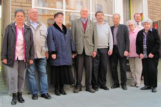 Photo: Vorstandssitzung des neuen Teams in der Heimatstube