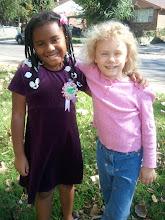 Photo: Kaleya and friend