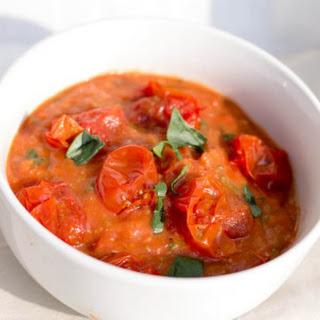 Easy Cherry Tomato Sauce.