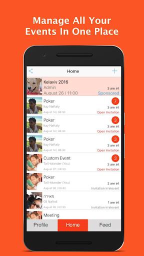 AreYouIn - Event Planner Screenshot