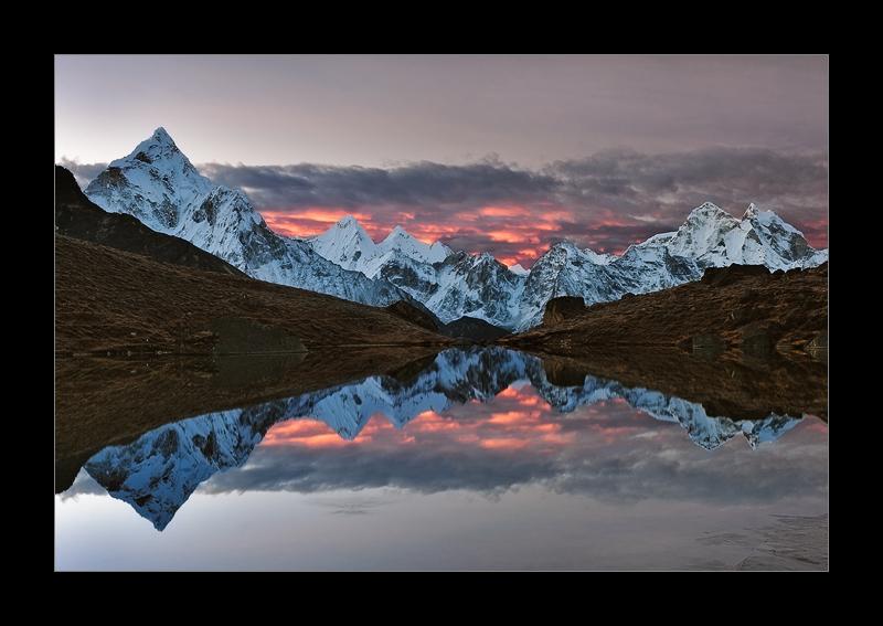 Photo: Shot of the Day - Laboche Lake, Everest Region, Nepal 2010