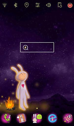 白兔先生 桌面主题