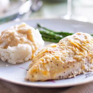 Creamy Lemon Pepper Chicken.