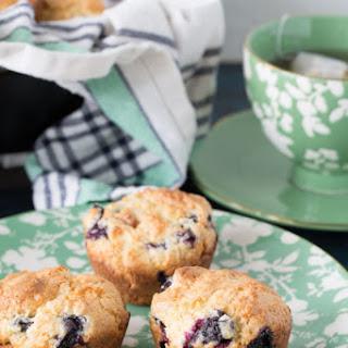 Gluten Free Blueberry Muffin.