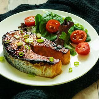 Honey Miso Glazed Salmon