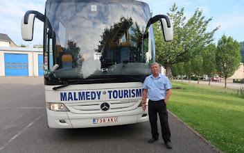 Photo: Déplacement avec le club de Malmedy