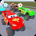 McQueen Monster Trucks - Motortruck Roadster 3D icon