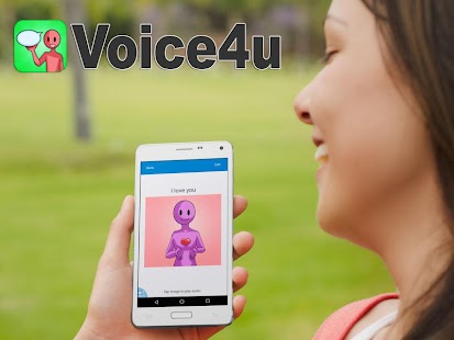 Voice4u AAC Communication Screenshot
