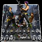 Fort Knight Battle Keyboard Icon